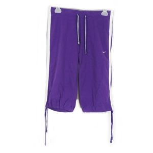 Nike purple capri pants size small